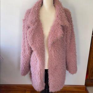 COPY - Pink Fuzzy Coat